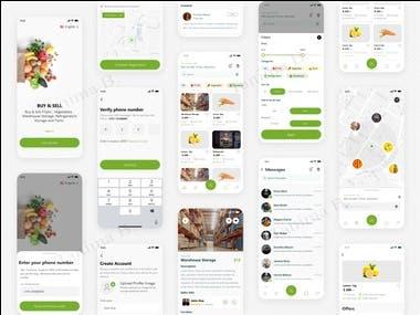 Grocery App Design...