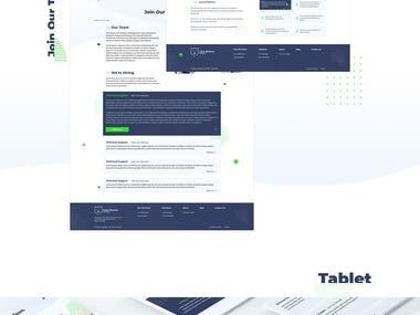 PSD to Landing Page Development