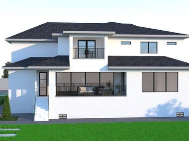 Here i have attached some of my latest Exterior Rendering work what i have developed from  Autocad Layout or PDF. We are here to serve you all type of Architectural 3d Rendering, City rendering and Walkthrough.   Why we are best  #affordable price #very quick delivery #Photo realistic render Quality #always connected through update I don't like to work with you one time but for a good relation.