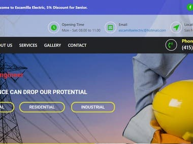 its about showing info and contact of electrical engineer , people can visit this site and get contact from here and get engineering services.  for more details. visit this link http://www.escamillaelectricca.com/