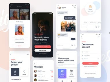 Chatting Mobile App for Android and iOS This was built by React Native and Websocket.
