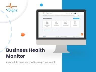 Business Health Monitor Vsigns is a platform where you can find out what probably happens in the next year or six months according to your current condition.