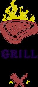 Meat shop logo design