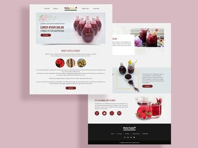 WordPress Site for a Beverage Co.