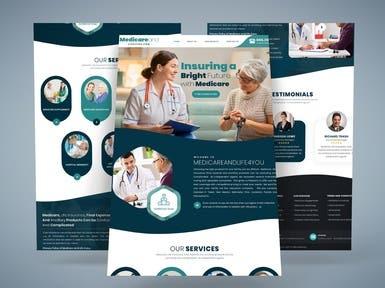 Homepage Mockup - Life Insurance Co.