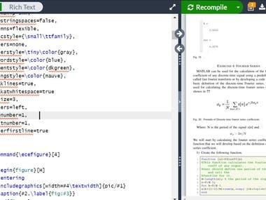 I will make documents using latex programming