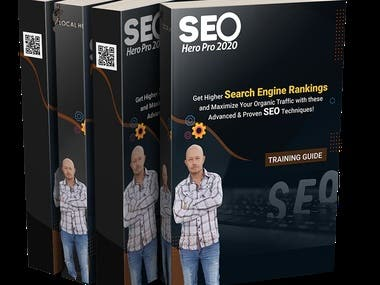 Ebook content-Repurposing PLR-Cover Design The Attached Pics is an Example  of My Basic SEO Training For Beginners.  Downloadable PDF's and 20 HD Videos.  I Use It For A Lead Magnet.   Thank you for Looking Cody