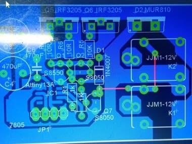 i have designed ESC (Electronic Speed Controller) for brushless dc motor rating (drone) rpm:1440/v  current:30amps