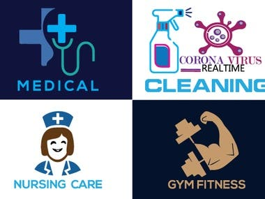 Thank you for comming my best medical,dental.nursing,gym,fitness,cleaning logo design gig on Fiverr.com. {I did a graphics designer course run by the ICT ministry} I don,t want to waste your precious time.And don,t want to put you in any confusion.I believe you have come to the right place.For your specific work.I will prove it to you through my work.  **Why trust me and benefits you get?  * 3 Professional Logo  in JPEG and PNG file * Unlimited Revisions * High-resolution Vector file  * Fresh and unique logo ideas * 48 hours fast Delivery  * Friendly customer suppor * LIFETIME VIP Support * 100% Money Back Guarantee. * 100% Customer Satisfaction * Free Source file including full pack (.ai, .png, .pdf, .eps, .svg, .jpeg, .psd and .tiff) * NOTE: 1st 100 Buyers will get source file (AI, PSD) FREE * Feel free to contact me I'm always available :) ----------------------------------------------------------------