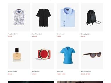 Clothings ecommerce wordpress store