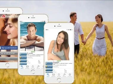 Dating/Chat mobile appSocial Mobile System
