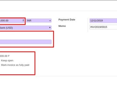 Manual Currency Exchange Rate On Sales Order, Invoices, Purchase Orders and Payments. Currency rate fluctuates every day. you can configure currency rate under accounting in odoo but its very difficult to change exchange rate on daily basis. Odoo does not provide you to change currency rate on sales order, Invoices, purchase orders and payments level. This module provide the facility where you can enter manual currency rate on sales order, invoices, purchase order and payment level. Based on that rate it will generate journal entry and calculate foreign exchange loss or gain.
