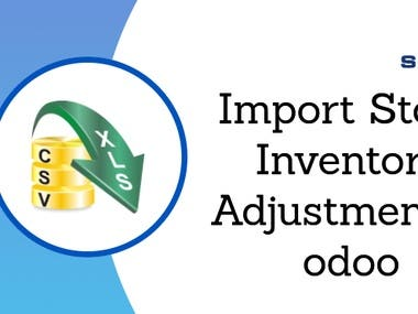 This module will allow you to import inventory adjustment in just a one click.
