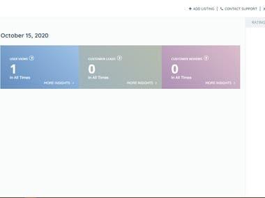 Created Classified Website in Wordpress.