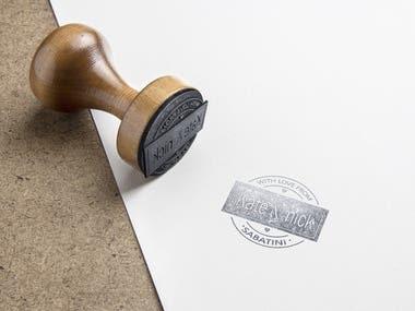 Stamp Logo Designing