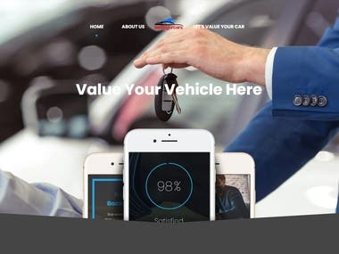 This site is a car valuation site. This project has developed by Laravel 5.7.