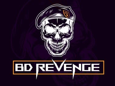 BD Revenge Game Logo.