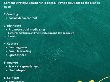 This is made for my freelancing course.  Lead Generation using LinkedIn Lead Generation Plan