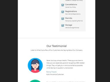 "Customization email template for MailChimp. My job responsibilities were customize header and banner section. Project duration 45 minutes. Client's reviews ""Really great freelancer to work with!"""