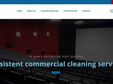 Janitor Specialized Cleaning   Responsive Wordpress Website  https://www.janithor.com