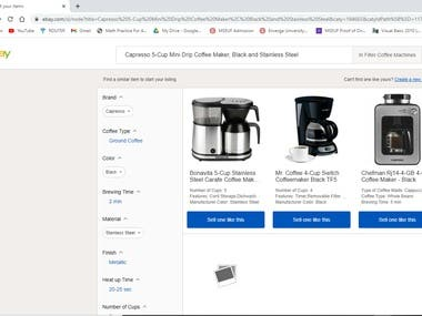 Actual Dropshipping and Listing in Ebay.