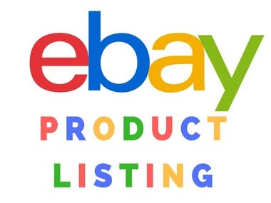 I am an expert in eBay product listing and I have experience in eBay product listing.  My Services:   Product Title  Product Description  Product Image  Product UPC Code  Product Price and other details  Make Mobile Friendly  On-Page SEO  Product SEO Title   If You Need a Virtual Assistant for eBay Product Listing Feel Free To Contact.