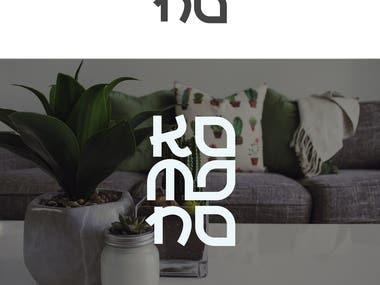 """A presentation of """"Kemono"""" logo design"""
