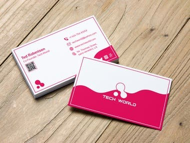 I have designed this minimal and creative business card for a company which helped them grow their business better than before. Please feel free to contact me for design like this.