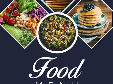 Flyer Design for food menu