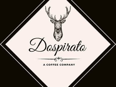 Dospirato, A coffee company logo to grow your business
