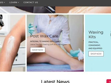 Nacach Wax is a beauty cosmetic business that sells wax and makeup products.