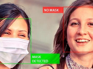 A Face Mask Detector built using tensorflow-object-detection API. An EfficentDet-0 model was used for training. The model classified between Face Mask, No Face Mask and Incorrect Face Mask (wearing mask but nose not covered)