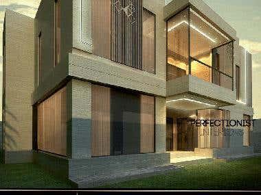 3D Exterior rendering For Mr,Abdul-Aziz