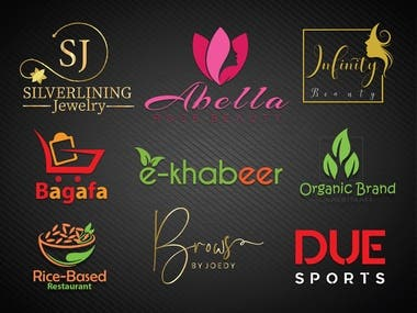 100% EDITABLE PRINT READY BEAUTY LOGO, AVAILABLE AI, PSD, PDF, PNG, JPG AND OTHERS FORMAT