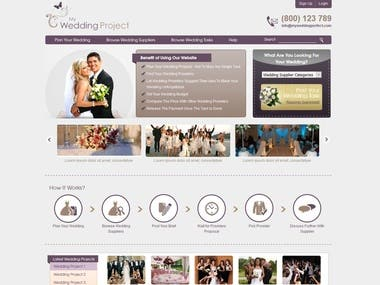 This is  Wedding Project.