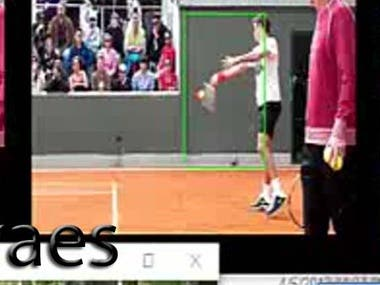 The images here show detection and recognition of specific objects.