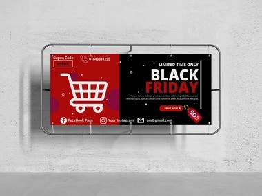 Its a black friday banner for promote business.