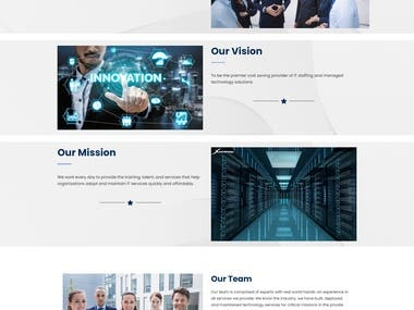 We have Design Website For Consulting Company.