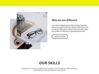 1. Premium theme 2. Premium Plugin 3. Responsive Design 4. 100% best quality work
