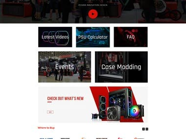 Client was seeking a new re-vitalized web-design for their brand, they wanted it to be highly visual, fast loading, and easily adjustable for new products/services. Client also wanted a revamp of existing site/brand related content.