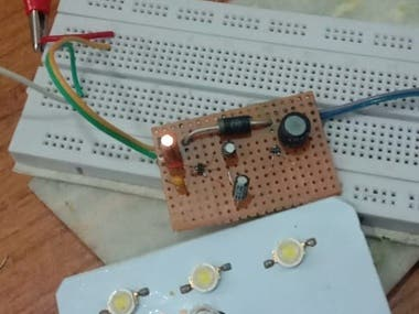 This is Buck Converter, it is tested with load led. Please DM to know more on it. We can share video as well.