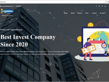 Invest project with laravel.