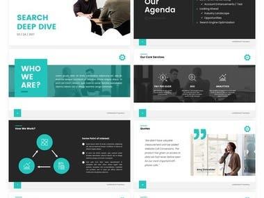 Pitch Deck & Presentations