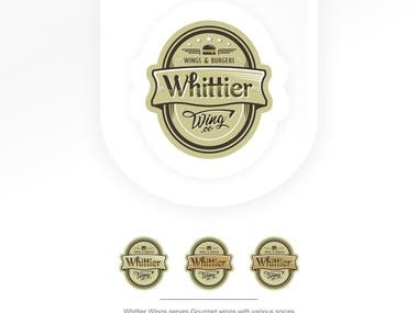 This is logo for WHITTIER