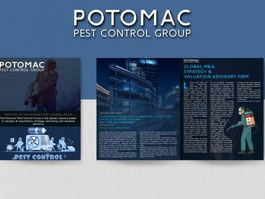 Magazine advertisements for POTOMAC PEST CONTROL GROUP