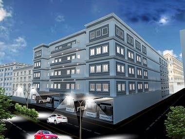 3D Exterior of Buildings