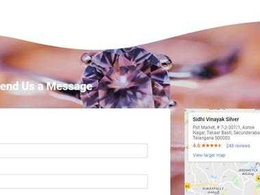 hi need the beautiful contact us page check it out!
