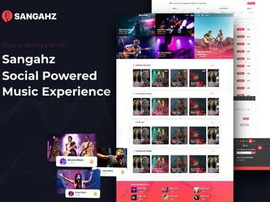 Music Application  Live Streaming