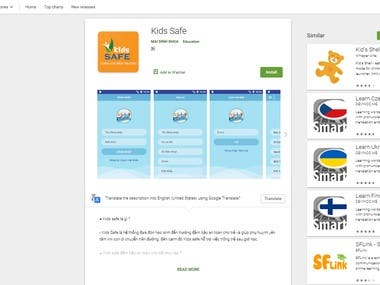 https://play.google.com/store/apps/details?id=com.kidssafeapp