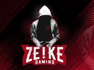 Logo and banner design for the gaming stream